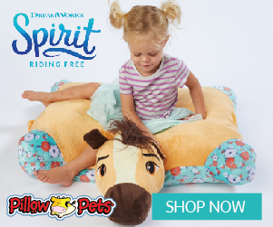 It's not one of those regular pillows, it's a Pillow Pet!